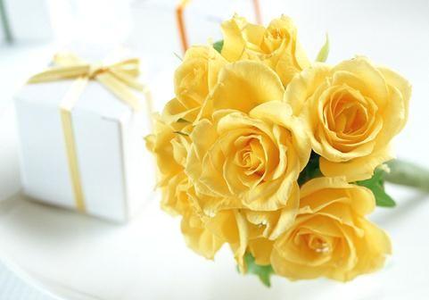 父の日 黄色の薔薇