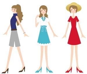 ファッション 色の組み合わせ