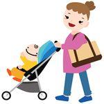 赤ちゃん 散歩 紫外線対策