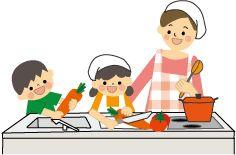 父の日 子供と料理