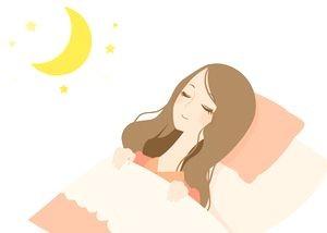 睡眠 女性ホルモン 美肌