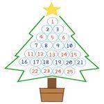 クリスマス アドベントカレンダー