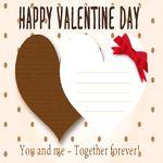 バレンタイン カード 手作り 簡単