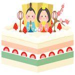 ひな祭り ケーキ 簡単